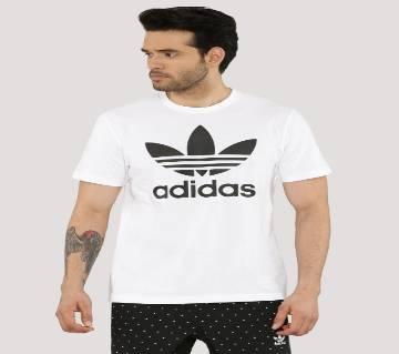 Adidas Gents Full Sleeve Cotton T-Shirt
