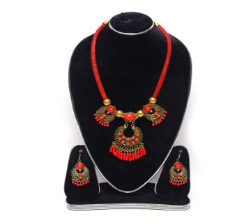 Boishaki necklace with ear ring