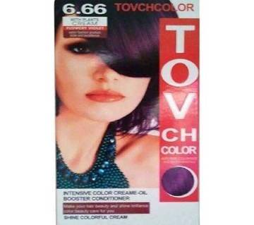 TOVCH VIOLET Hair Colour - SHADE 6.66-80ML-CHINA