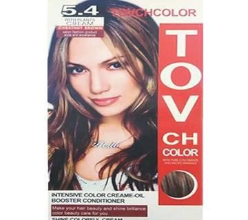 TOVCH  Hair Colour -SHADE 5.4 - CHISINVI BROWN-60ml-China
