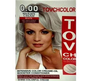 TOVCH WHITE Hair Colour -60ML-CHINA
