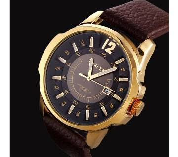 Curren 8123PGB Brand Men Casual Sport Quartz Watches Fashion Man PU Leather Strap Male Watch