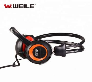 WEILE HEADPHONE WITH MIC