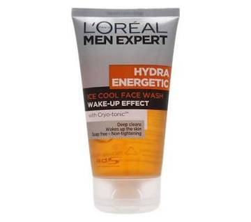 Loreal face wash men hydra energatic