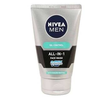 Nivea Men All In 1 ফেস ওয়াশ - 100gm - India