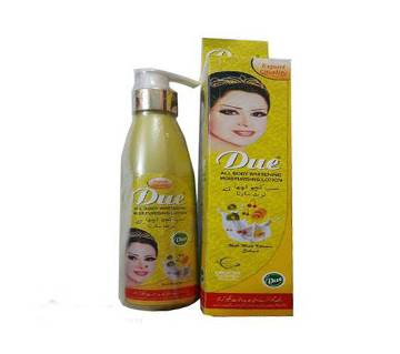 Due whitening hand & body lotion