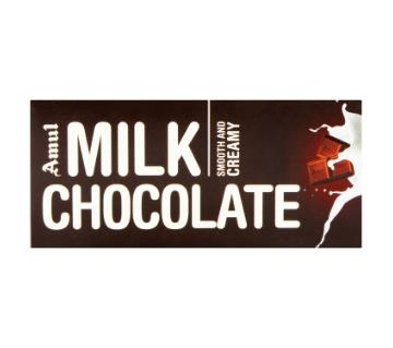 amul milk chocolate-150gm-India