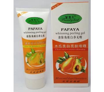 papya whitening peeling gel-100gm-China