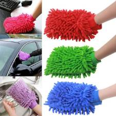 Microfiber Dust Cleaning Glove - 1 pc