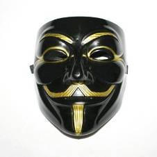 Vendetta মাস্ক - Black