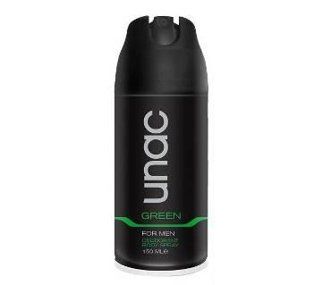 UNAC Green বডি স্প্রে for Men - 150ml Turkey