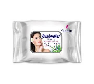 Freshmaker Makeup Remover Wipes