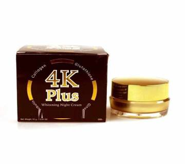 4K Plus Whitening Night Cream-15gm-Thailand