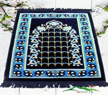 TURKISH PRAYER MAT JANAMAJ-Blue