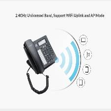 Wi-Fi IP Phone with 10 Speed Dial