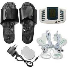 Multifunction Electrical Stimulator Full Body Relax Muscle Massager Pulse Tens Acupuncture Therapy with Slipper messager
