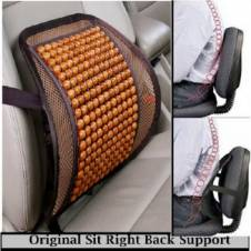 Original Sit Right Back Support for Car Sit & Office  Sit Wooden