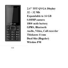 Stylus E-18 Feature Phone - Dual SIM Suported