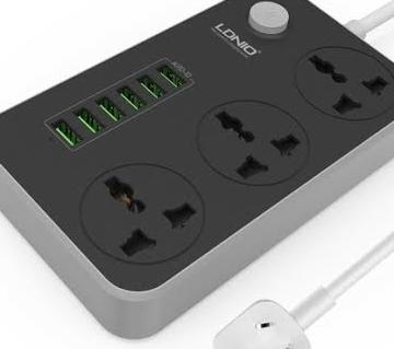 LDNIO 6 USB পাওয়ার সকেট