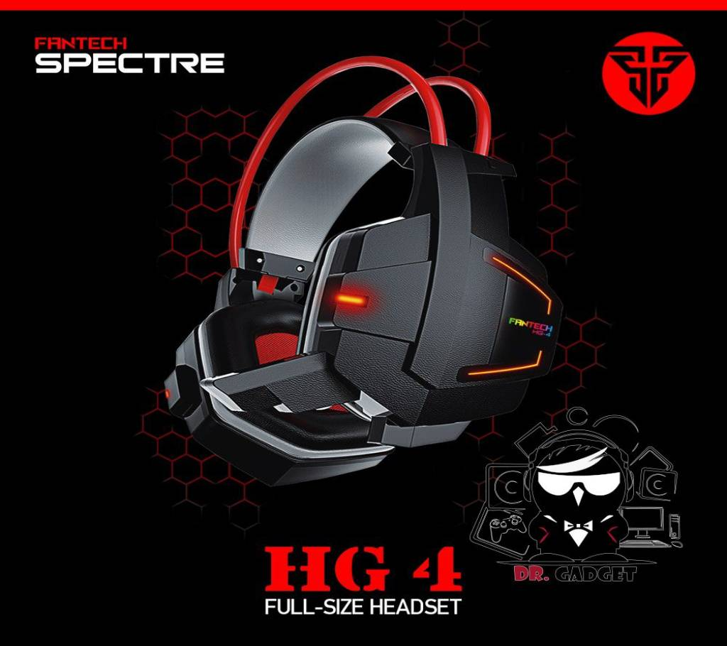 Fantech HG4 ওয়্যারড হেডফোন - ব্ল্যাক বাংলাদেশ - 799695