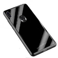 Tempered Glass ব্যাক কেস ফর Xiaomi Redmi Note 5 Pro - Black