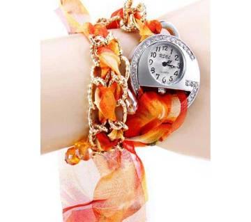 Ladies Lace Strap Watch