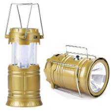 সোলার LED ল্যান্টার্ন টর্চ লাইট ল্যাম্প কাম পাওয়ার ব্যাংক