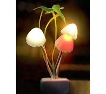 LED Night Glowing Mashroom Light