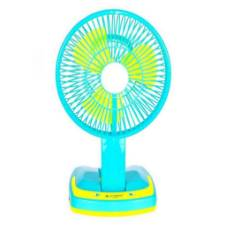 Rechargeable Folding Table Fan and Light