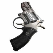 Gun Shaped Lighter - Black