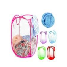 Fold ablepop up dirty cloth storage bag