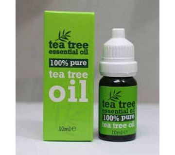 TEA TREE 100% PURE ESSENTIAL OIL ANTI FANGAL 10ML-UK
