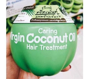 CARING VIRGIN COCONUT OIL HAIR TREATMENT 230 ML THAILAND