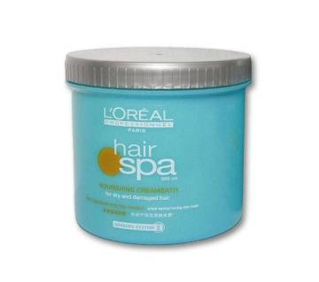 LOREAL Paris Hair Spa narishing cream    bath - 500 ml China