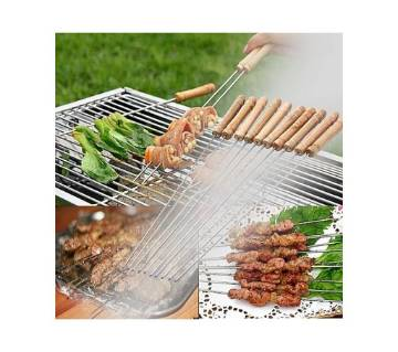 Barbecue Grill Sticks Set 12 Pcs