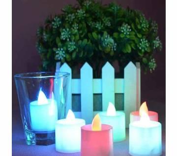 LED tea light candle - 3 Pcs