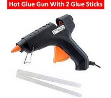 100W Hot Glue Gun with 2 pcs Glue Sticks