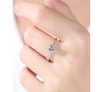 Silver Stone Finger Ring for Women
