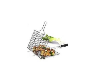 BBQ net holder clip- silver