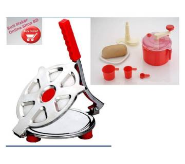 Manual ruti maker & Atta mixer