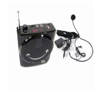 Rechargeable Loud Speaker with FM Radio cum Hand Mike