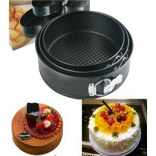Round Shaped Cake Mould 3 pieces
