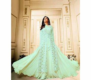 Unstitched Georgette Embroidery Three Piece (copy)