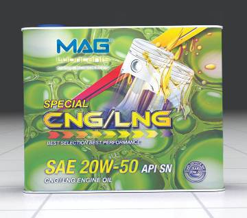 MAG CNG/LNG lubricant motorcycle engine oil 2 liters
