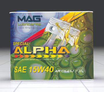 MAG Alpha Special lubricant motorccylce engine oil 2 liters