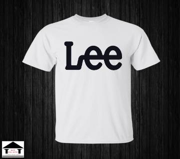 LEE Half Sleeve Cotton T-Shirt White