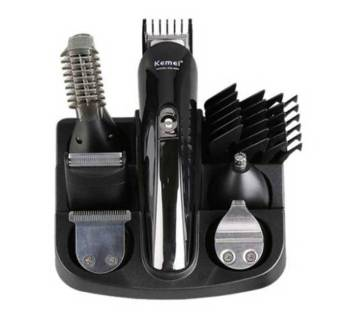 Kemei KM-600 Electric Professional Hair Clipper and Shaver - Black