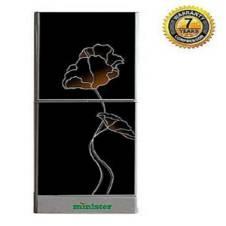 Minister M 195 Top Mount Refrigerator  195L Black Lotus