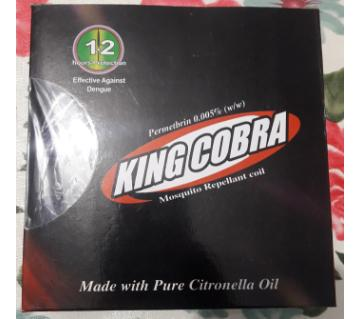 King Cobra Mosquito Coil (6 Box)