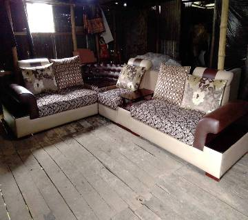 Cushion Sofa Set 5 Seater